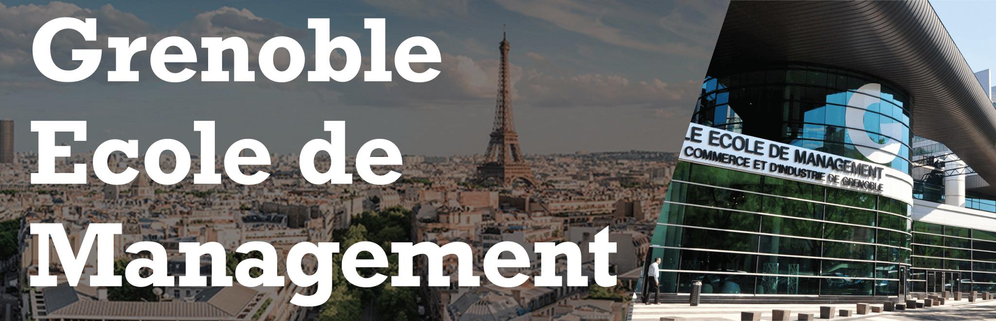 Grenoble Ecole de Management - Banner