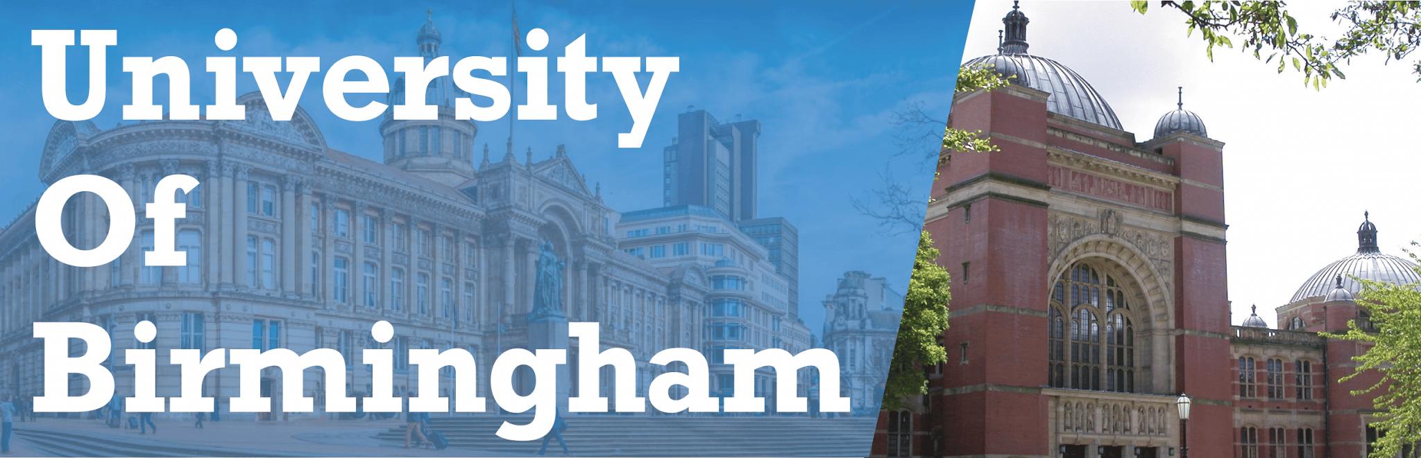 University of Birmingham - Banner
